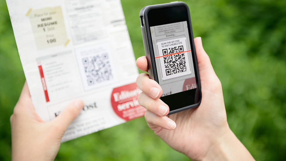 QR kód platba - Ilustrační foto.