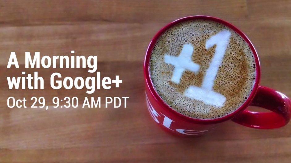 Ráno s Google Plus