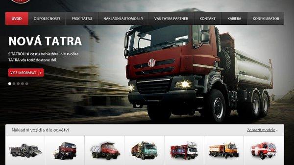Web Tatra Trucks