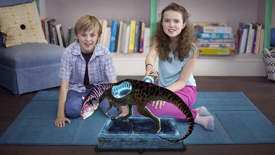 Wonderbook Putovani s dinosaury