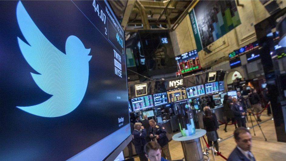 Twitter vstoupil na americkou burzu NYSE 6. listopadu 2013.