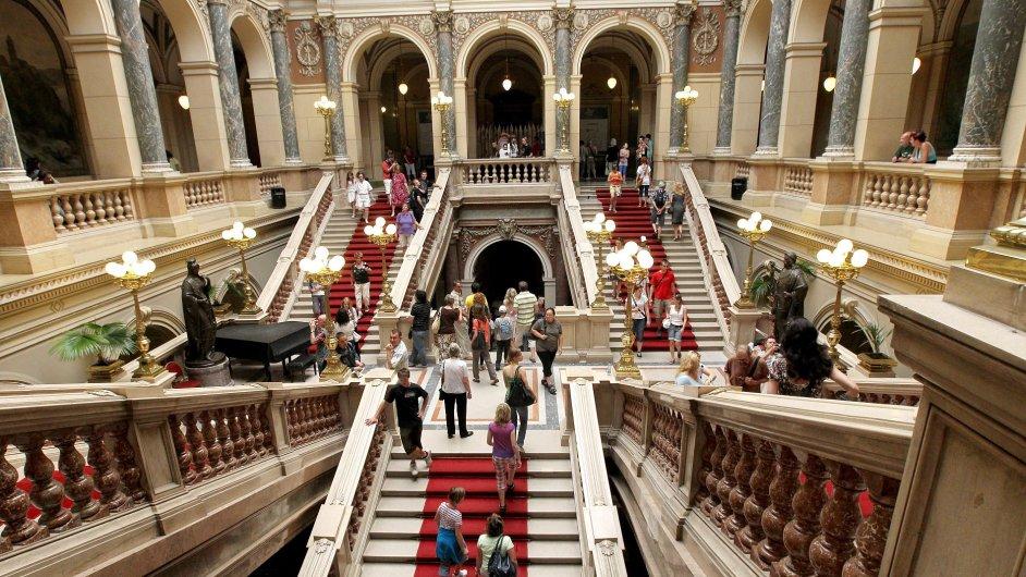 Národní muzeum před uzavřením