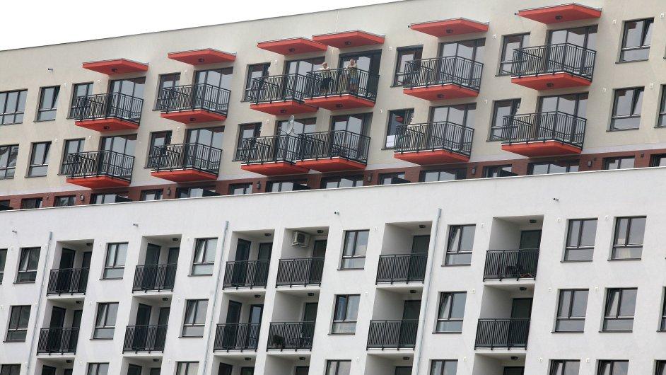 Ceny nových bytů v Praze loni nepatrně vzrostly