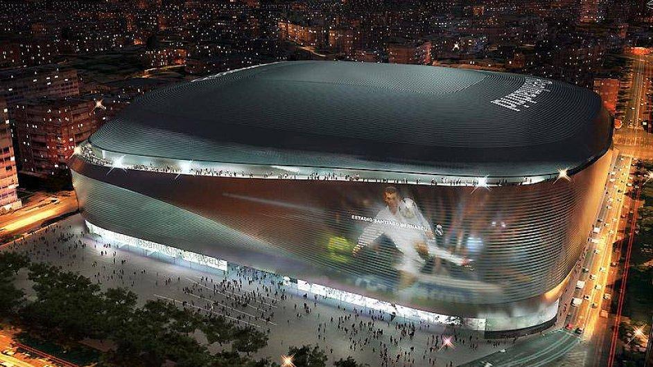 Stadion Realu Madrid v novém kabátě