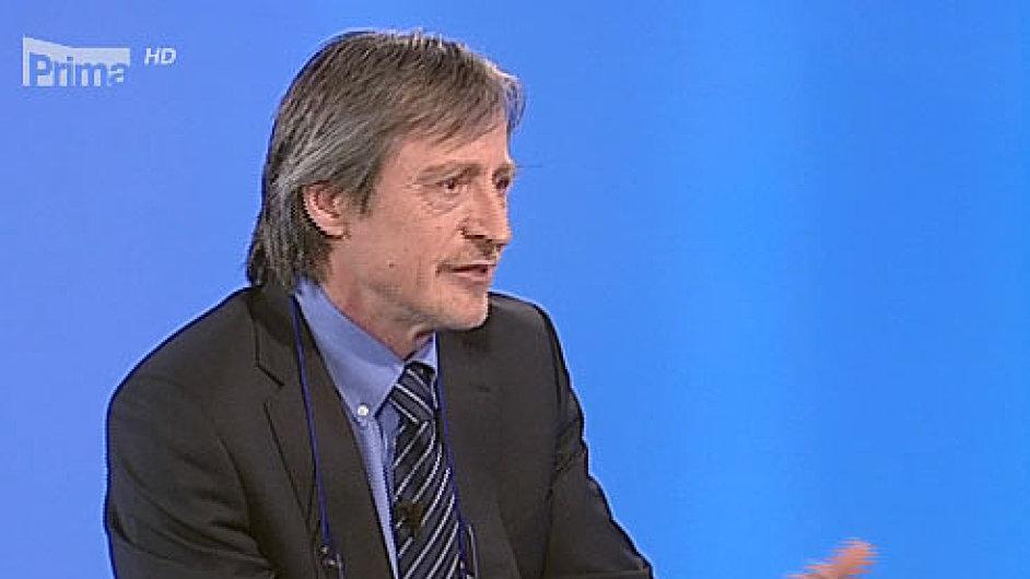Ministr obrany Stropnický v pořadu Partie na Primě