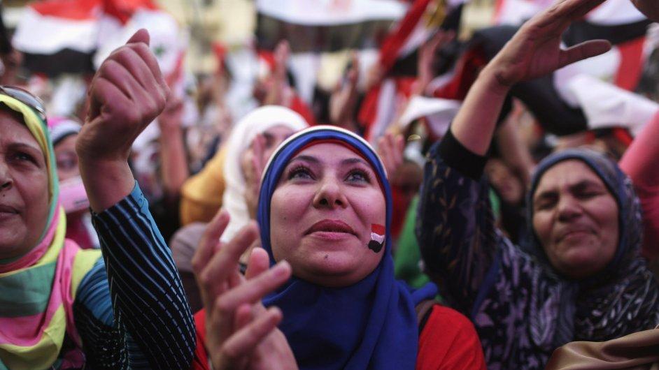 Oslavy inaugurace prezidenta as-Sísího se neobešly bez incidentu.