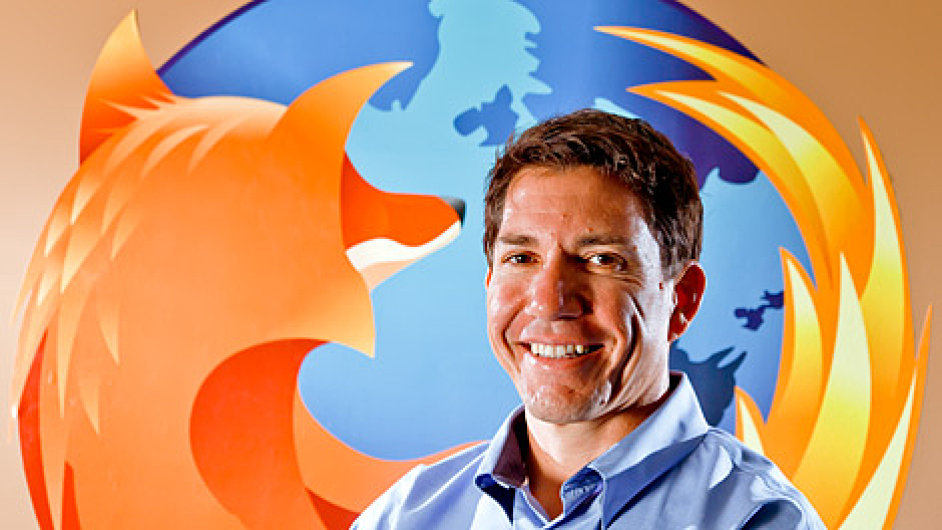 Gary Kovacs, CEO Mozilla Corporation.