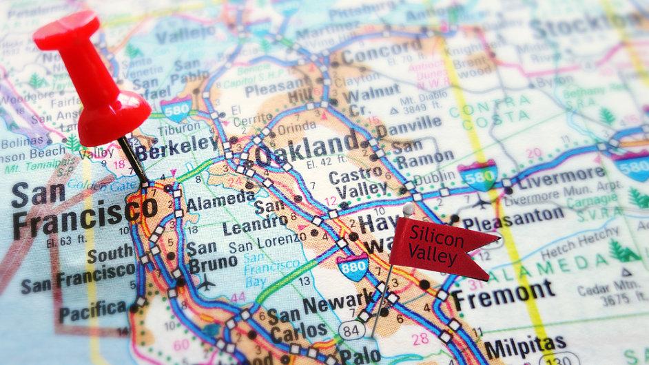Západoamerická oblast zvaná Silicon Valley byla dosud mezi firmami z projektu CzechAccelerator nejnavštěvovanější destinací.
