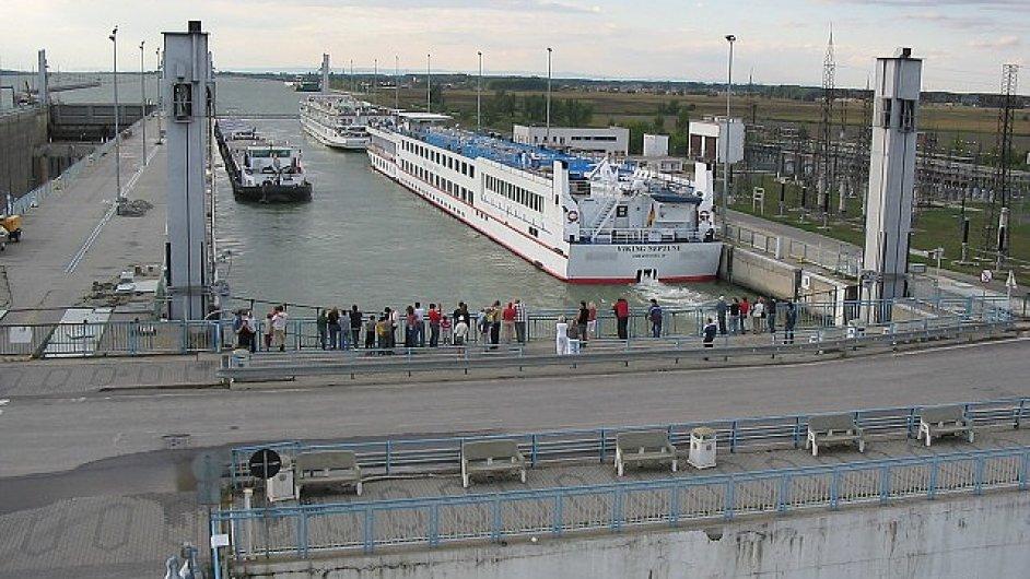 Vodní přehrada Gabčíkovo