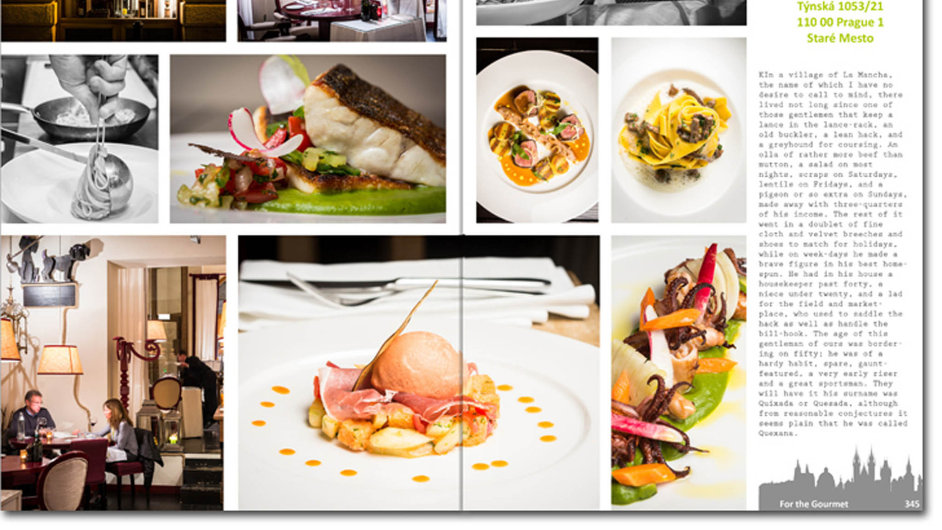 Publikace Prague Cuisine Dominica Jamese seznamuje čtenáře s největšími kulinářskými zážitky z pražských restaurací.