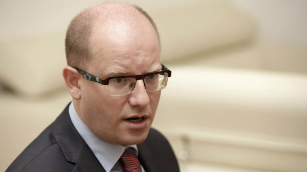 Český premiér Bohuslav Sobotka.