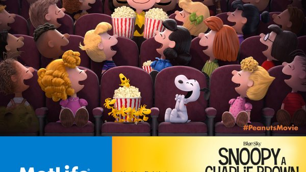 Kampaň je spojena s celosvětovým sponzoringem filmu o Snoopym