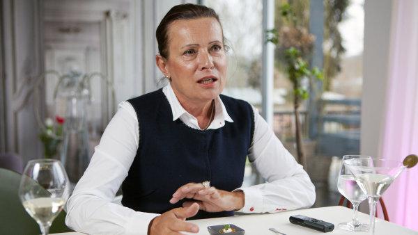 Alena Vitásková - šéfka ERÚ.