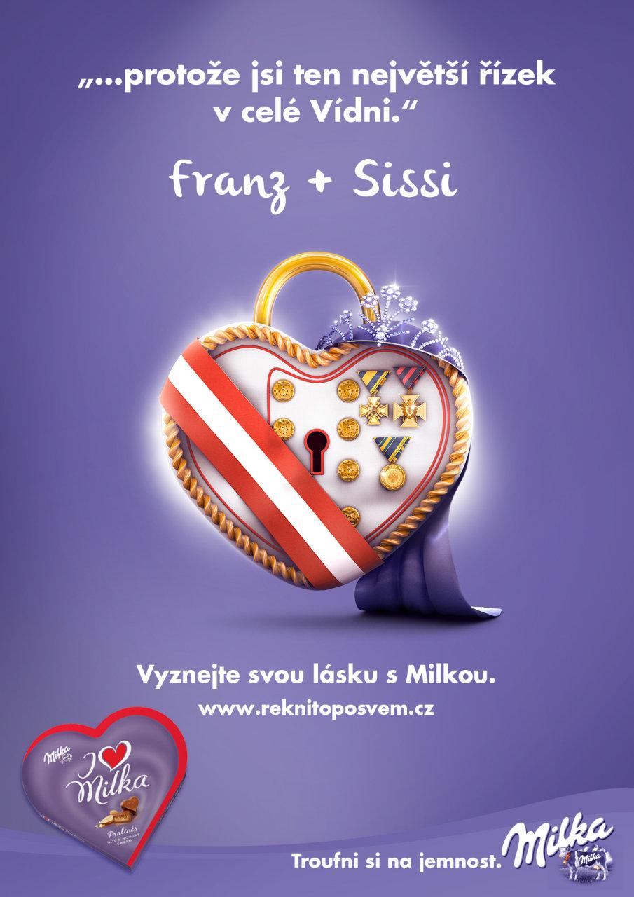 Milka & Franz + Sissi