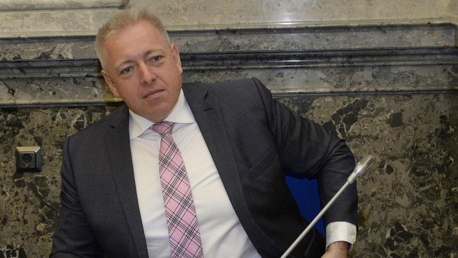 Ministr vnitra Milan Chovanec.