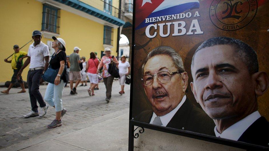 Barack Obama přiletí na historickou návštěvu Kuby.