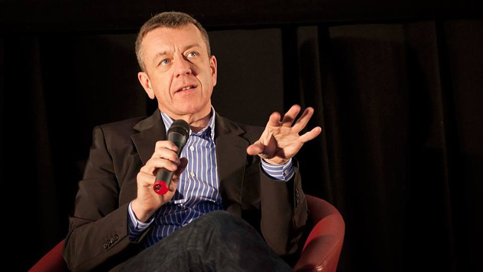 Peter Morgan na Febiofestu převzal cenu a vedl masterclass o psaní scénářů.