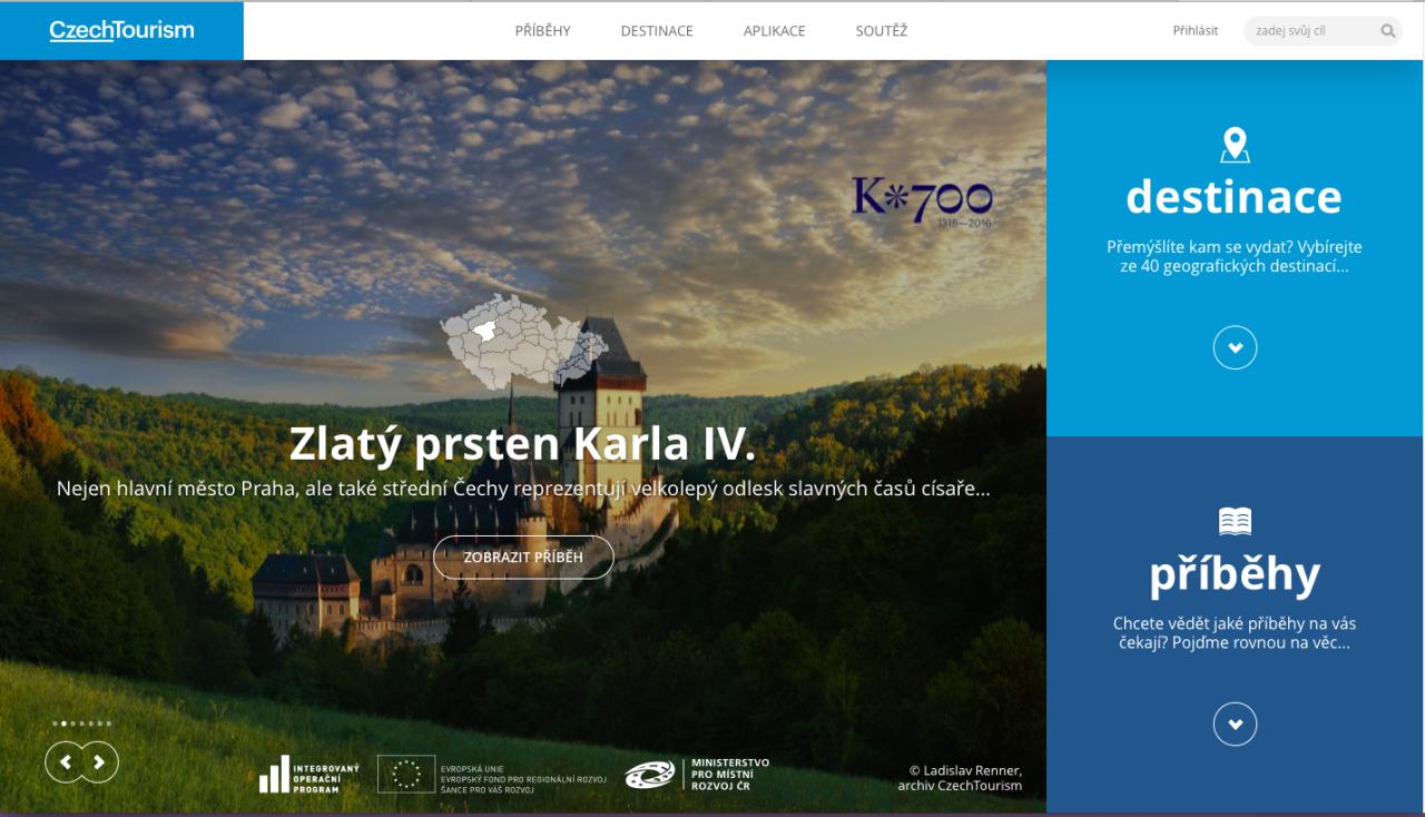 Czech Tourism - Zlatý prsten Karla IV.