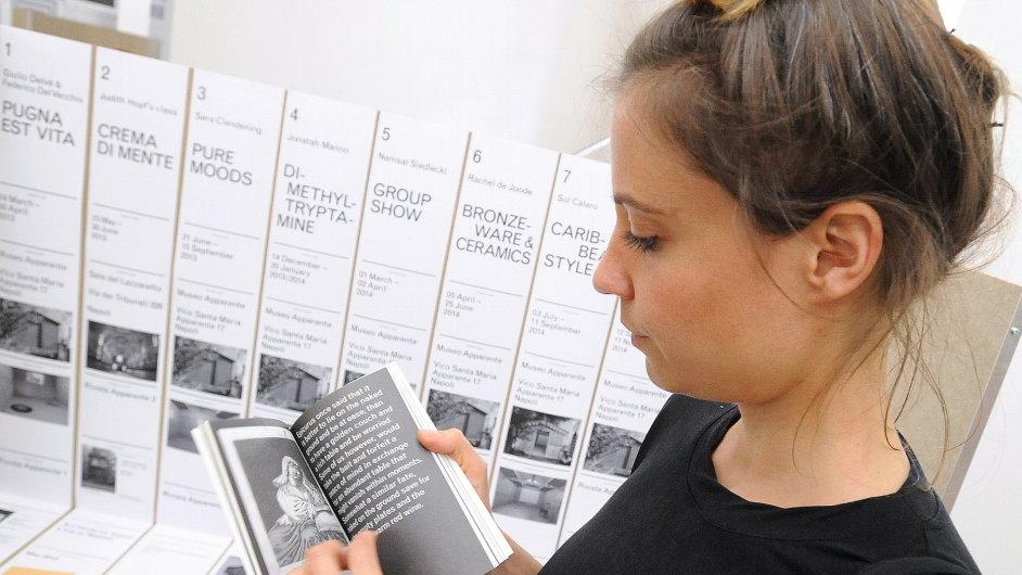 Laureátkou velké ceny 27. Mezinárodního bienále grafického designu Brno se stala Anna Haasová (na snímku).