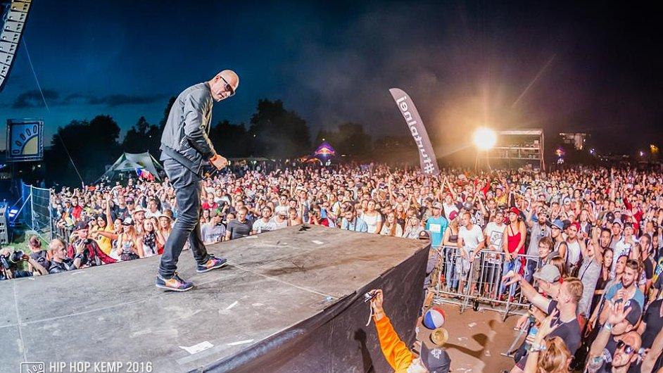 Na letošní ročník festivalu Hip Hop Kemp dorazilo 23 tisíc lidí.