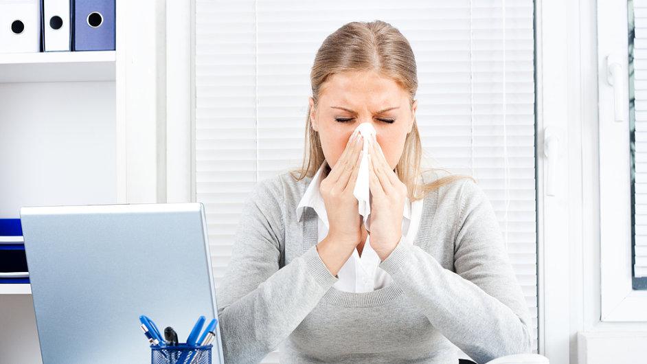 Chřipka - ilustrační foto