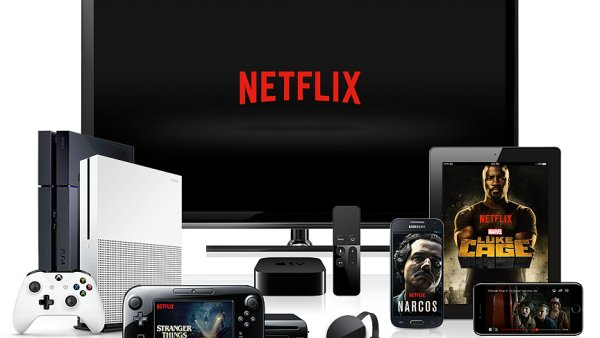 Netflix pustíte všude a skoro na jakémkoliv zařízení.