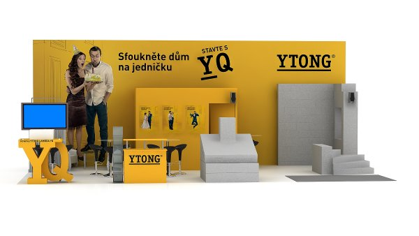 Ytong na Stavebním veletrhu 2017
