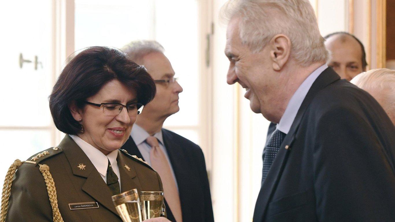 Lenka Šmerdová, Zeman, 1. generálka