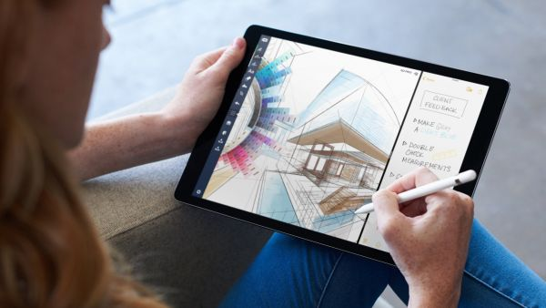 ios 11 ipad user pencil multi tasking