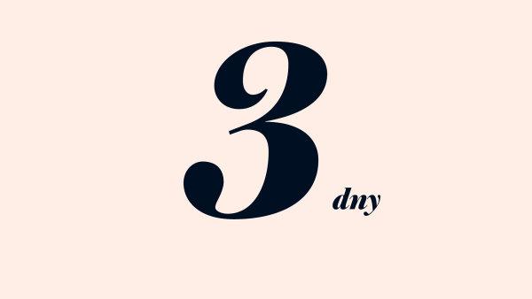 3 dny