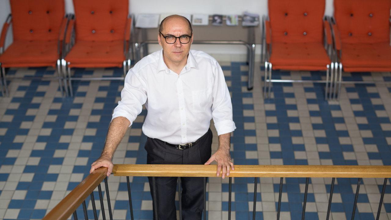Ředitel Centra globálních studií Filosofického ústavu Akademie věd Marek Hrubec