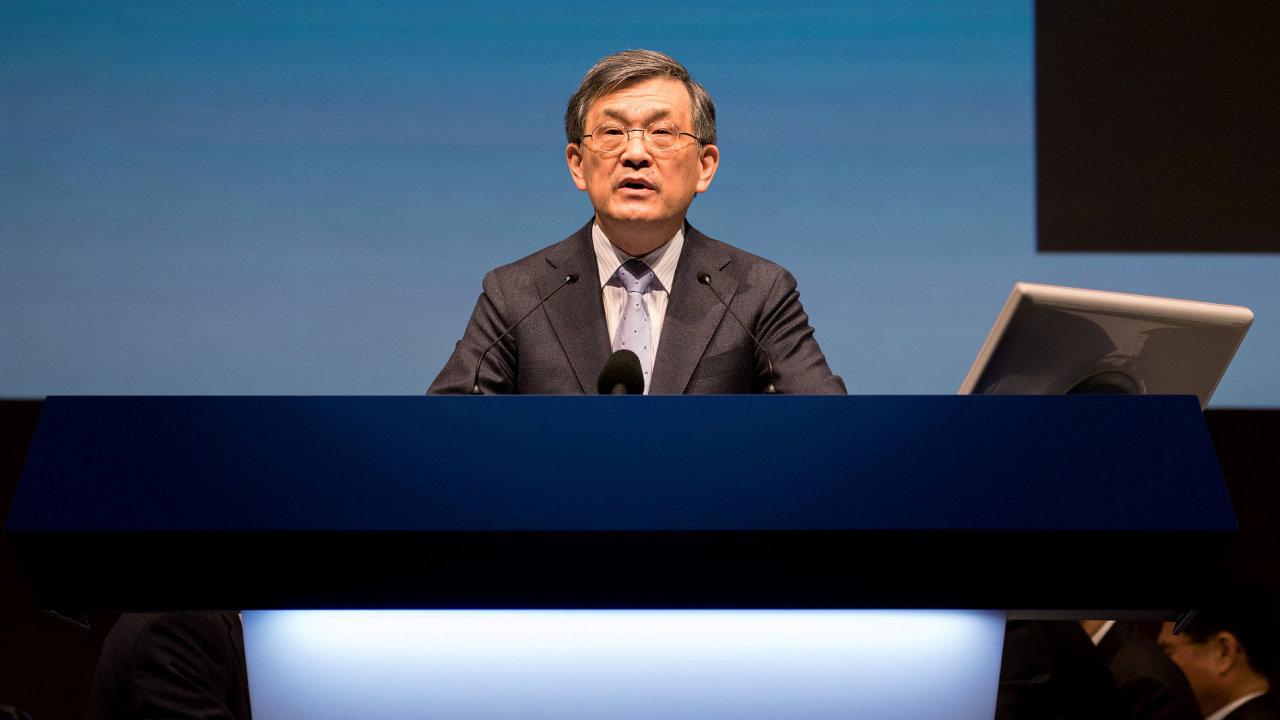Odcházející šéf jihokorejské společnosti Samsung Electronics Kwon O-hjon.