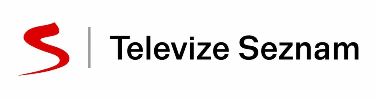 Logo Televize Seznam ve variantě na šířku