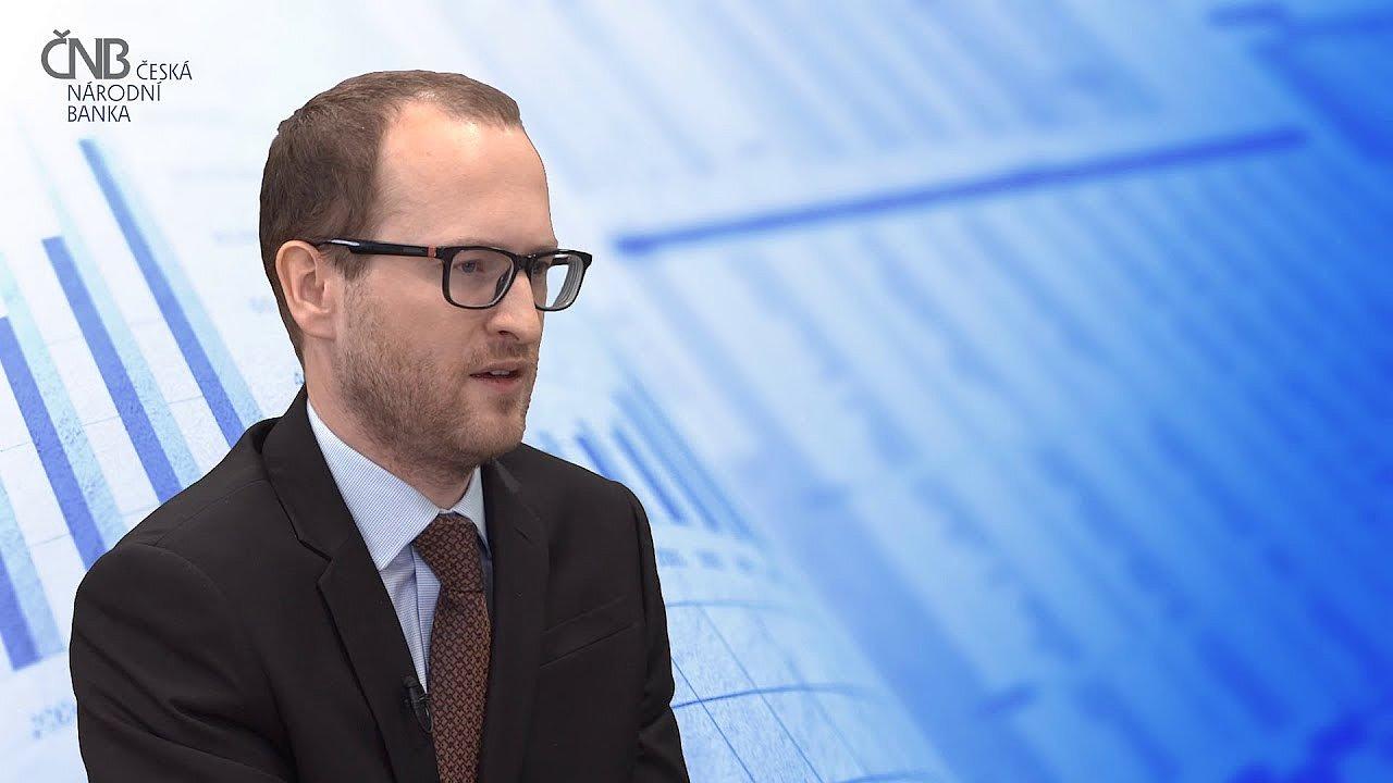 Ekonom Tomáš Havránek z České národní banky.