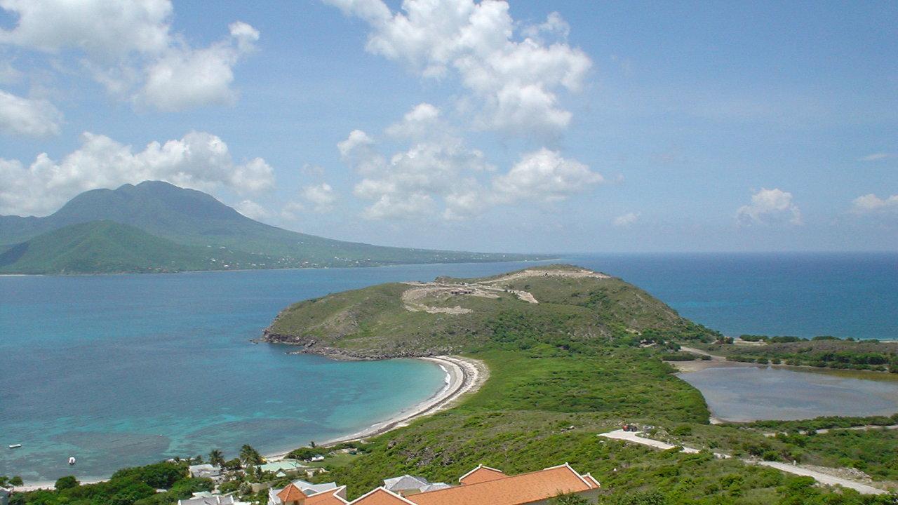 Karibský stát Svatý Kryštof a Nevis