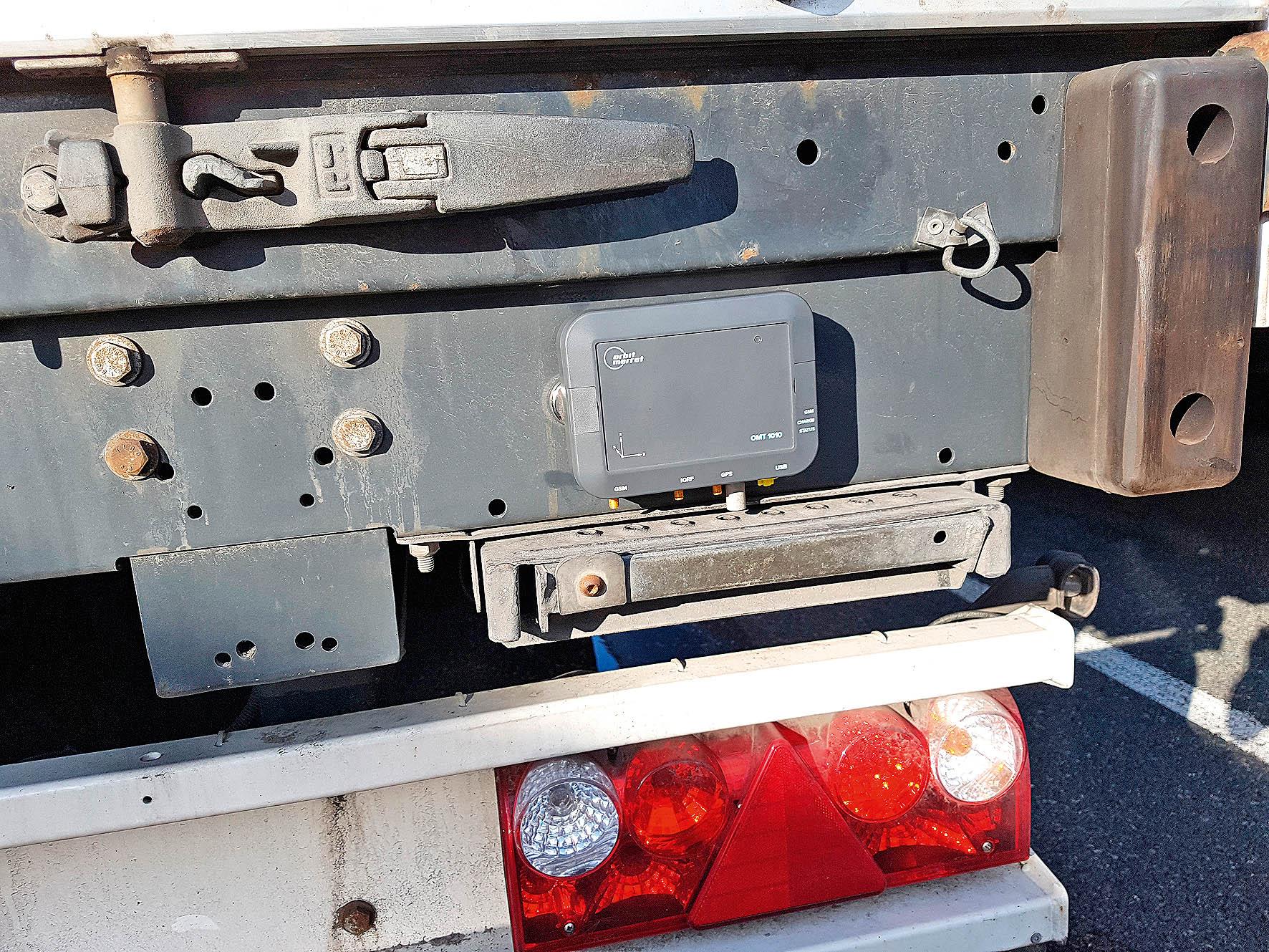Monitorovací modul OMT 1010 firmy Orbit Merret se nyní testuje na různých typech přeprav.