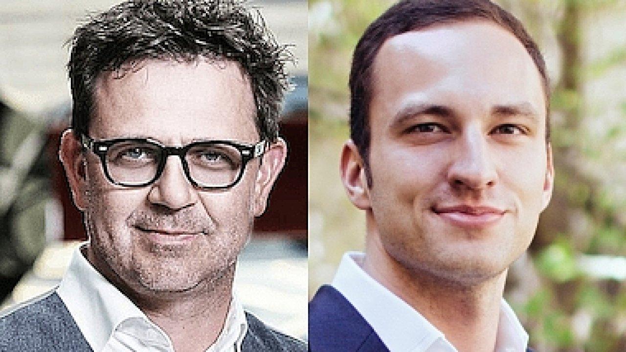 Roman Bartuška, CEO ve společnosti M.B.A. Finance; David Filippov, obchodní ředitel firmy
