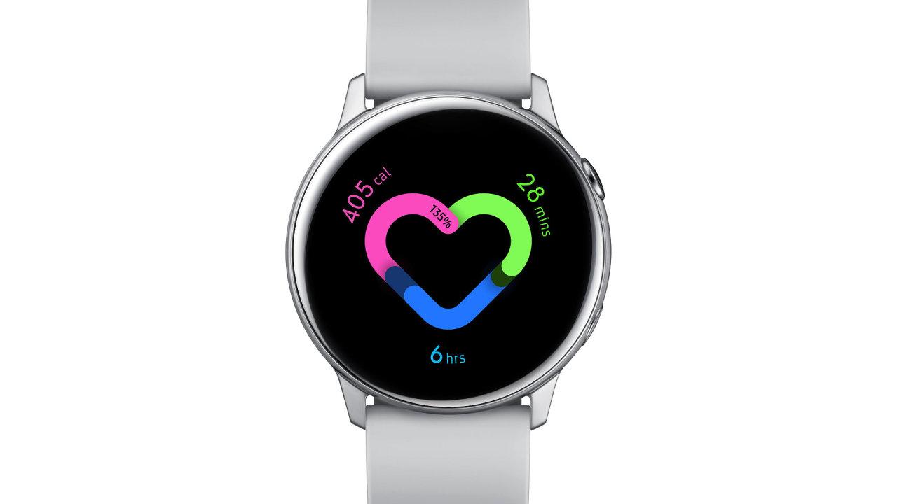 Chytré hodinky a náramky od Samsungu