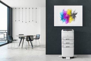 Společnost OKI uvedla na trh novou řadu barevných A3 tiskáren C800