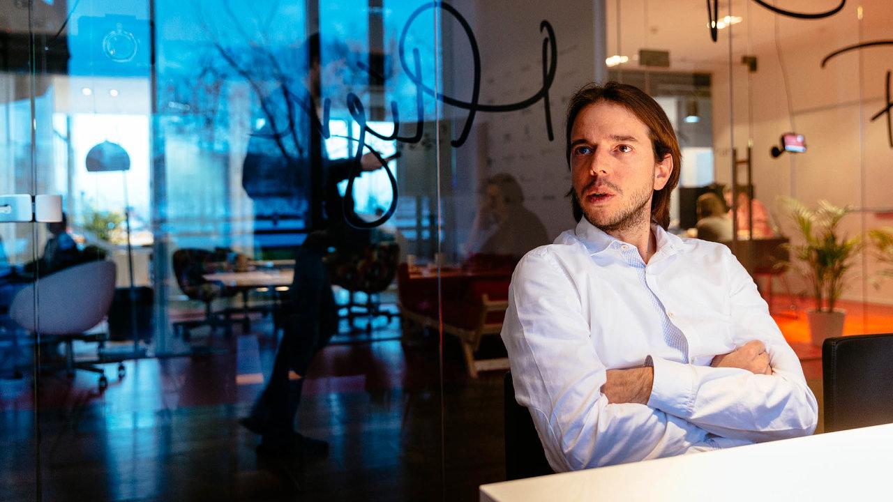 Menšinový vlastník. Jakub Havrlant Heureku koupil, nyní o ní rozhodují movití investoři.