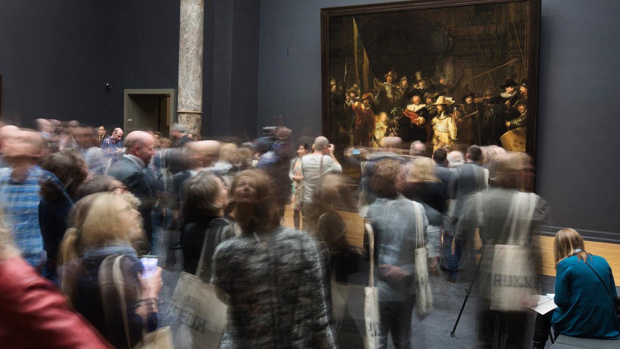 Pohnutý osud. Zadruhé světové války byl obraz ukryt vjeskyni uMaastrichtu. Několikrát se také stal terčem vandalů. Teď ho čeká rekonstrukce.