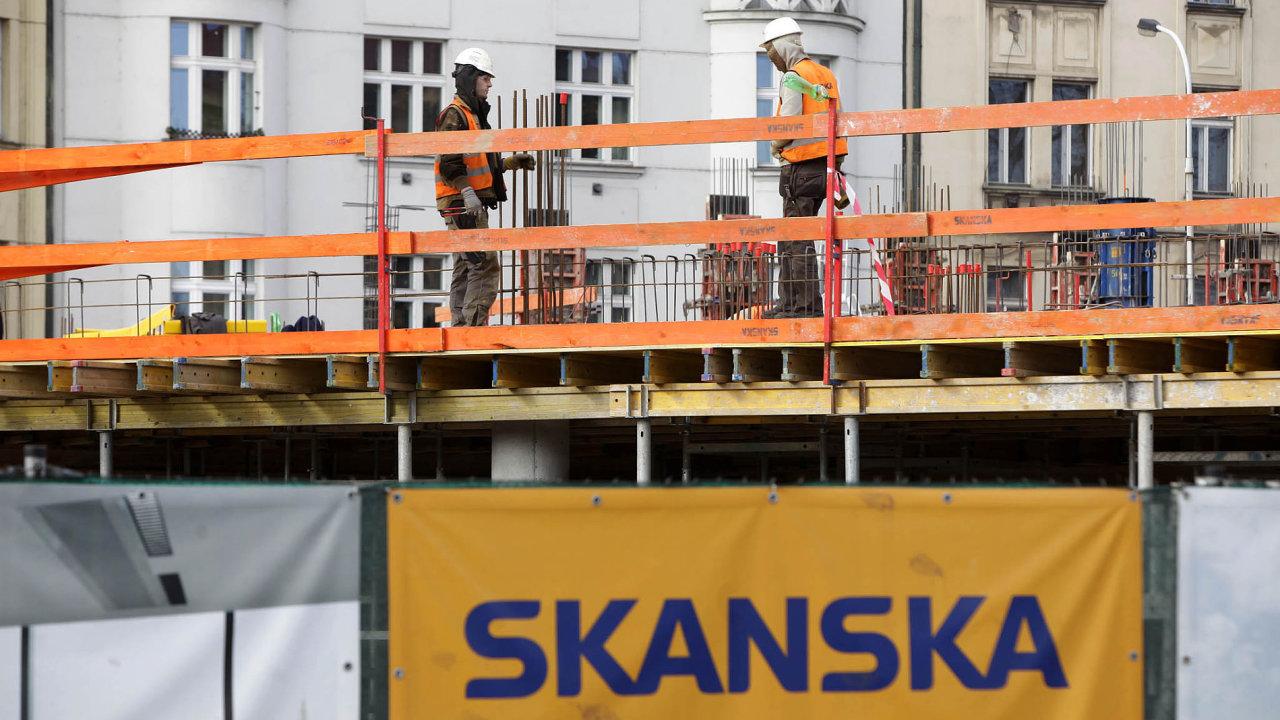 Předloni měla Skanska čistý zisk 202,1 milionu korun.