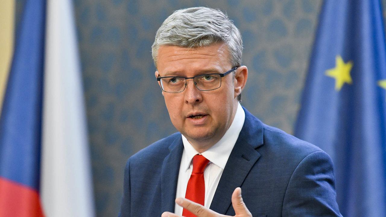 Ministr průmyslu aobchodu Karel Havlíček (zaANO) vyměnil tři zpěti radních energetického úřadu.