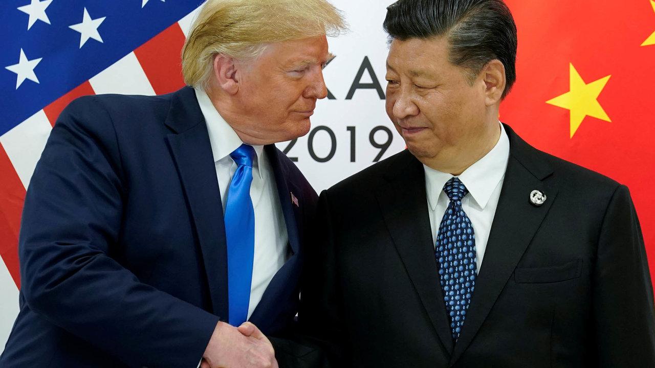 Příměří nevydrželo: Jen měsíc trval klid zbraní vobchodní válce, nakterém se včervnu dohodli Donald Trump aSi Ťin-pching běhemsetkání zemí G20.