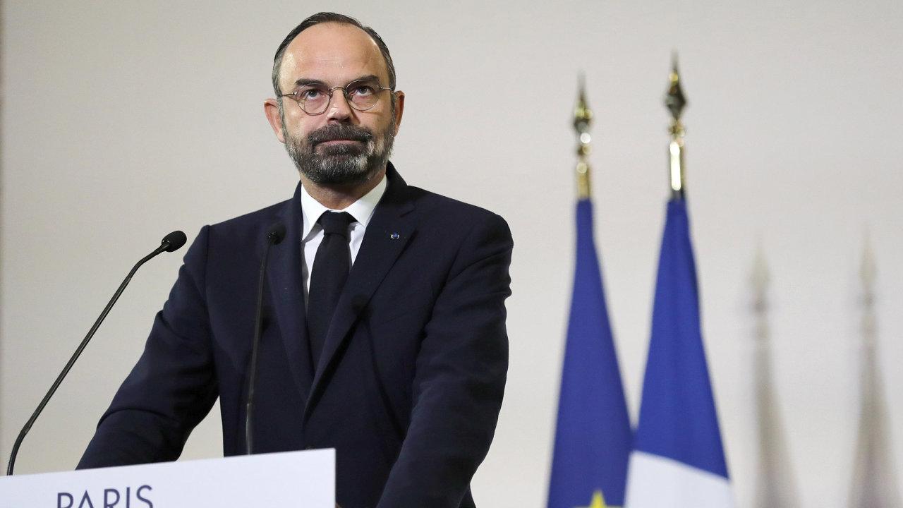 Francouzský premiér Édouard Philippe