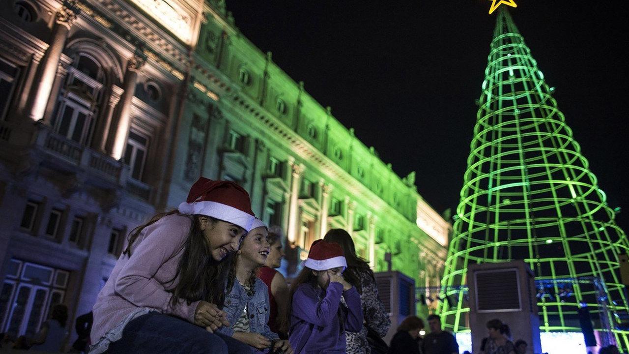 Vánoce Argentina