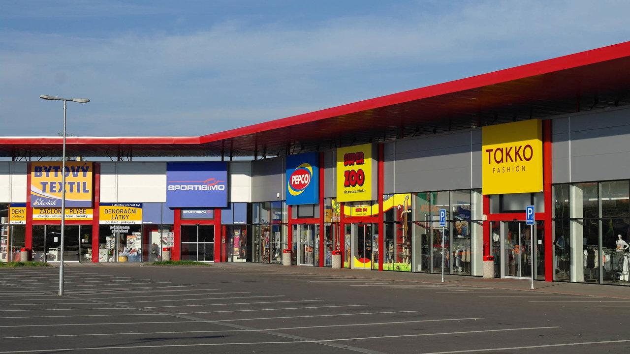 Ivančice Retail Park.