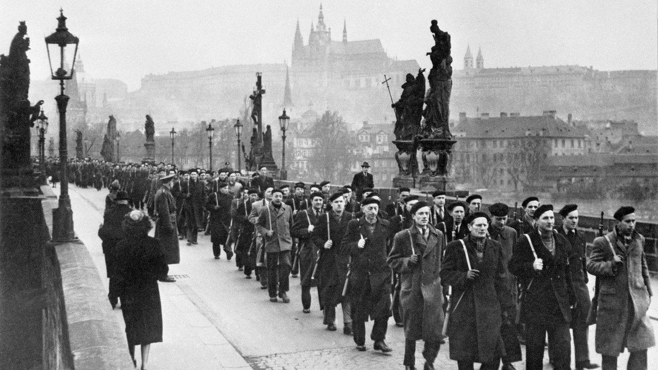 Únor 1948.