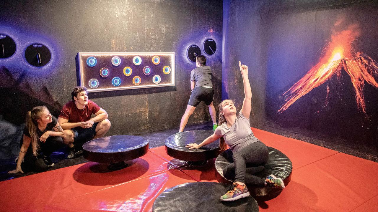 Adrenalinová hra TEPfactor možná trochu připomíná francouzskou televizní show Pevnost Boyard.