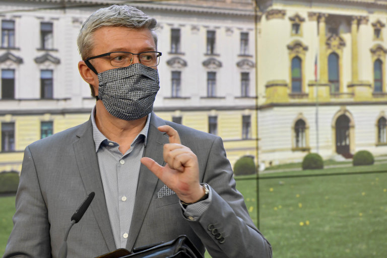 Ministr průmyslu aobchodu Karel Havlíček (zaANO) očekává start programu Covid III ještě tento týden.